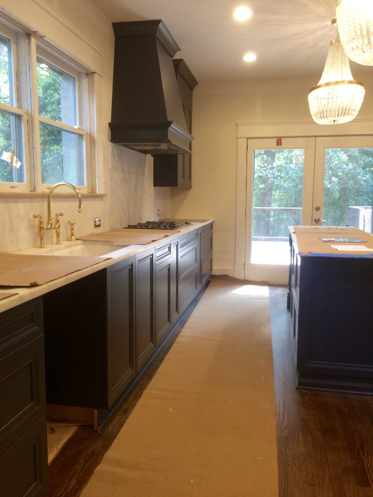 Atlanta Kitchen Cabinets Color Is Back White Horse Interiors And Renovations Llc