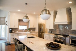 Five Sources of Light in a Kitchen